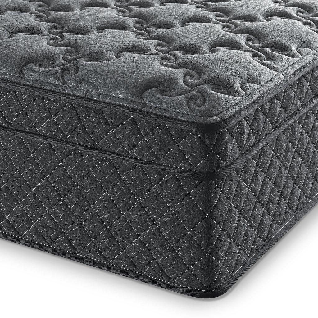 zinus black hybrid mattress as low as delivered more hip2save. Black Bedroom Furniture Sets. Home Design Ideas