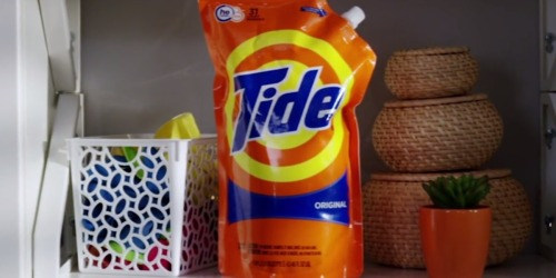Amazon: THREE Tide Liquid Laundry Detergent Smart Pouches Only $13 Shipped + More