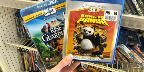 Blu-ray 3D Movies Only $5 at Big Lots (Kung Fu Panda, Rise of the Guardians & More)
