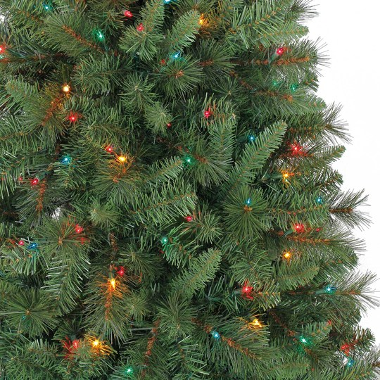 Artificial Christmas Tree 10 Ft: Michaels: 7 Foot Pre-Lit Pencil Tree Only $39.99 Shipped