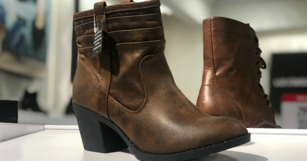 40e36b0af7e74 Here are a couple deal ideas… Buy three Arizona Women s Booties  60 each.  Total    180. Total After Buy 1   Get 2 Free Sale ...