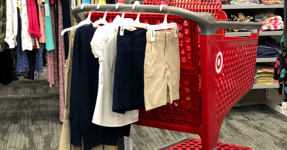 Target Deals Cat & Jack Uniforms