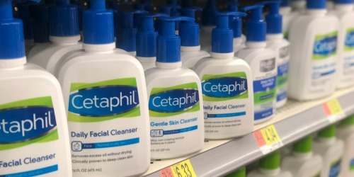 Cetaphil Daily Facial Cleanser Only $2.33 After Cash Back at Walmart