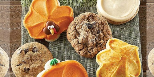 Cheryl's Cookies Thanksgiving Cookie Sampler Just $9.99 Shipped (Today Only)