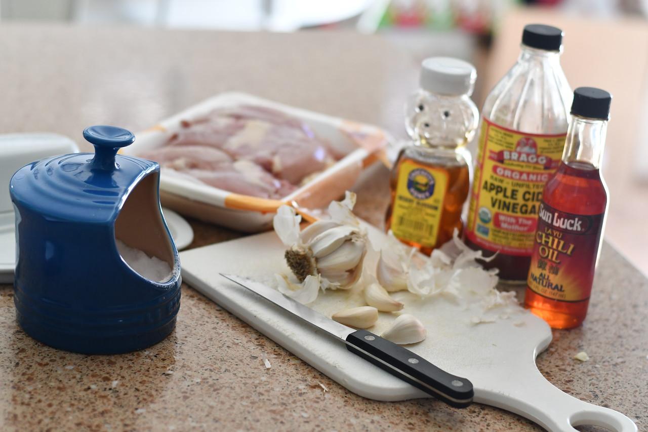 Honey Butter Chicken Ingredients