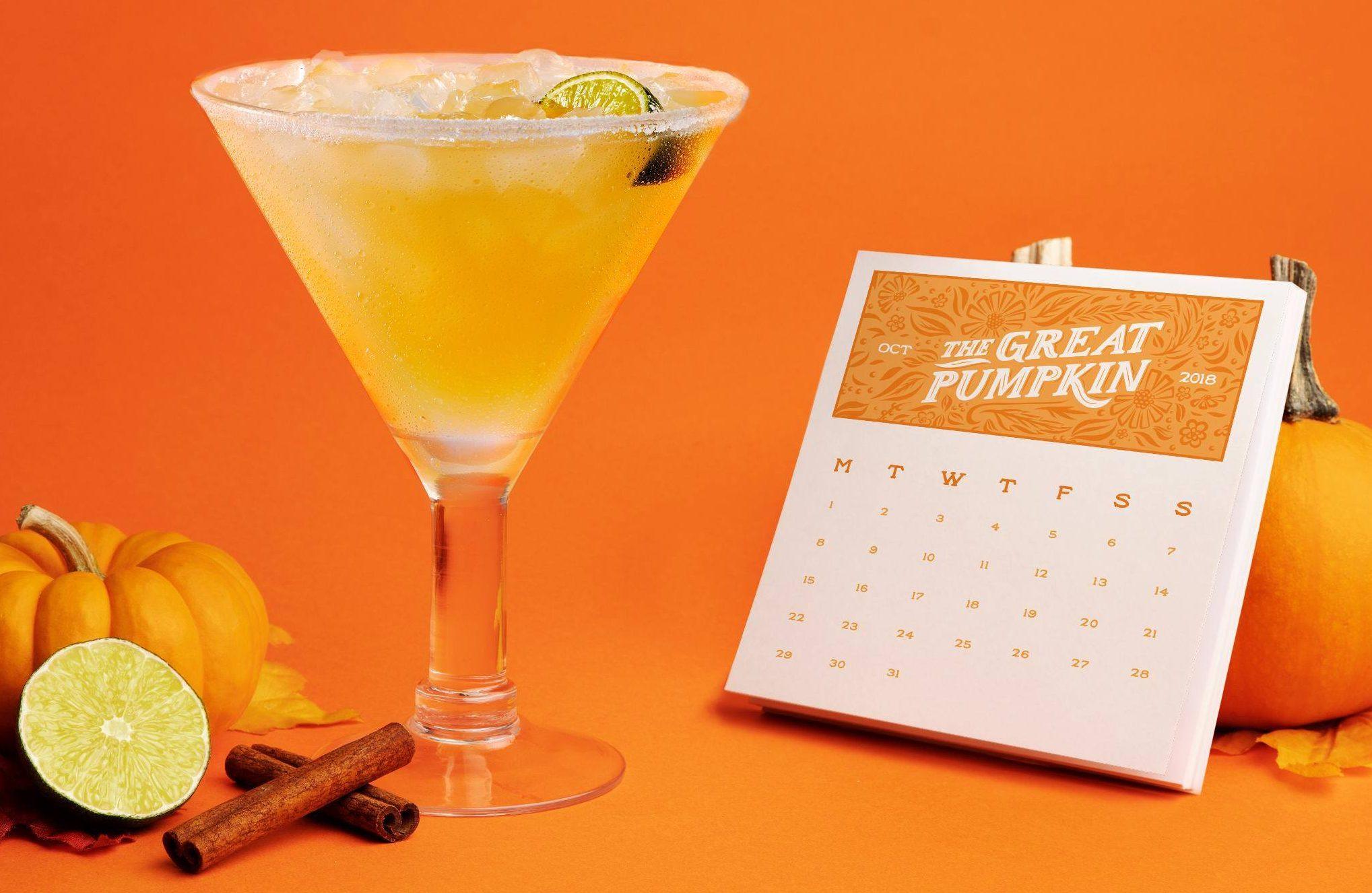 Halloween freebies and deals – Chili's Pumpkin Margarita