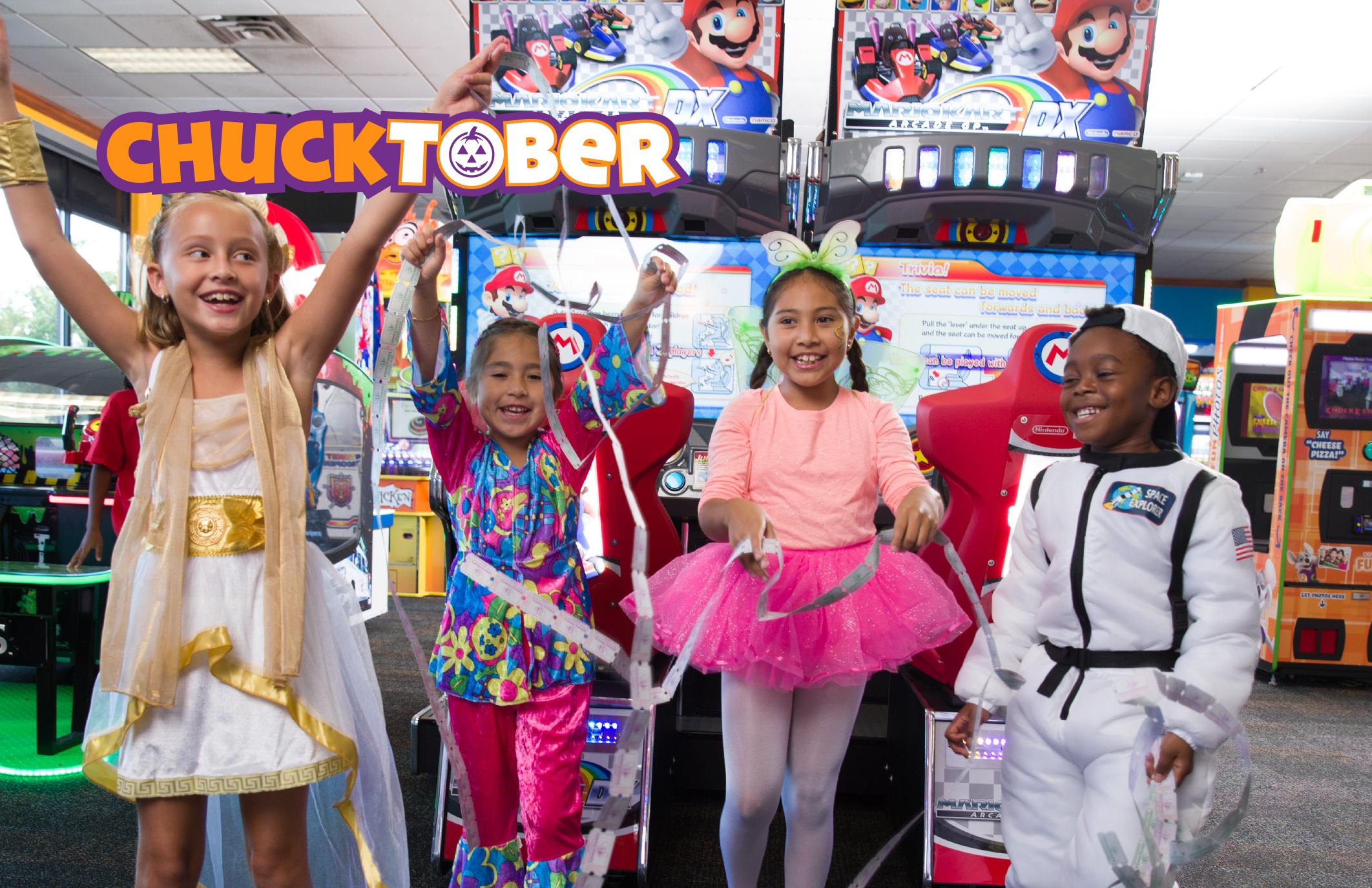 Halloween freebies and deals – Chuck E Cheese Halloween event