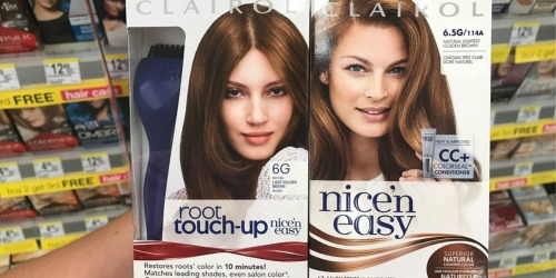 New $5/2 Clairol Hair Color Coupon