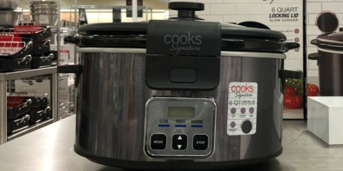 Cooks Signature 6 Quart Slow Cooker Only $25.49 at JCPenney (Regularly $90)