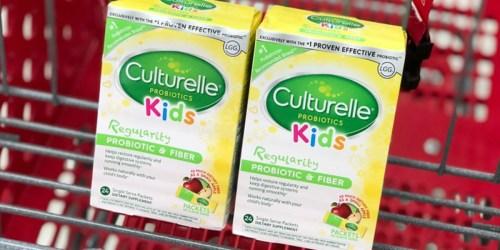 Culturelle Kids Probiotics Only $5.19 Each After Target Gift Card & Cash Back