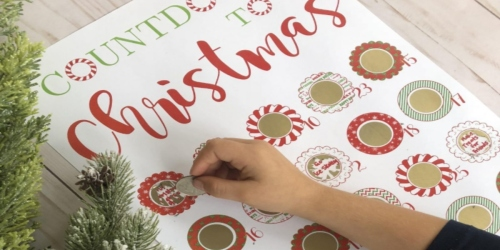 Customizable Christmas Scratch-Off Advent Calendar Just $8.99