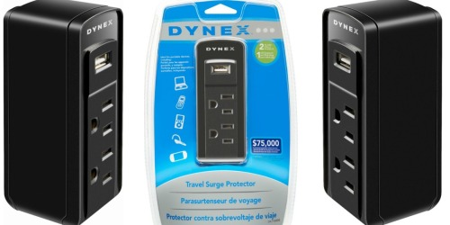 Dynex Travel Surge Protector Only $4.99 Shipped (Regularly $20)