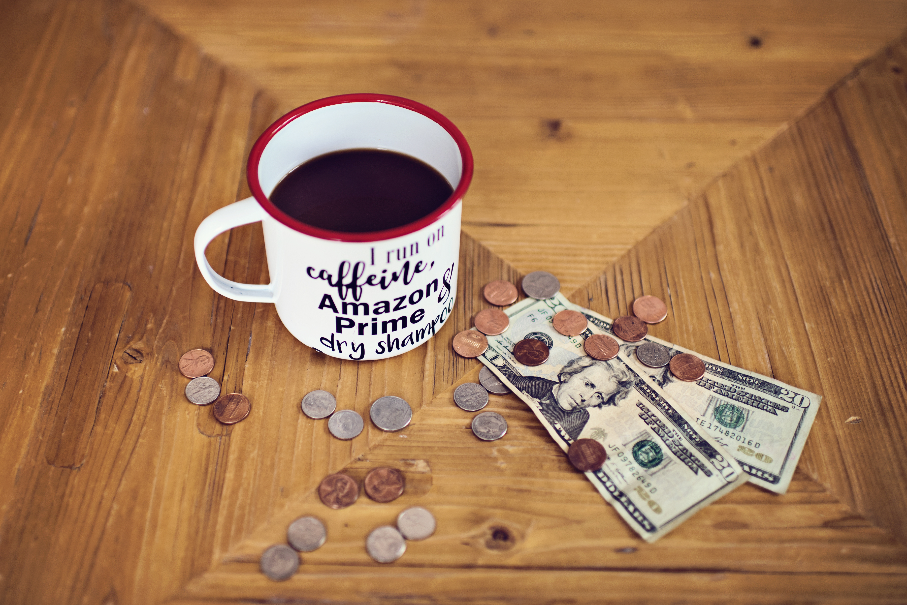 FAQ – Frequently Asked Questions Hip2Save – Coffee cup and money on a table