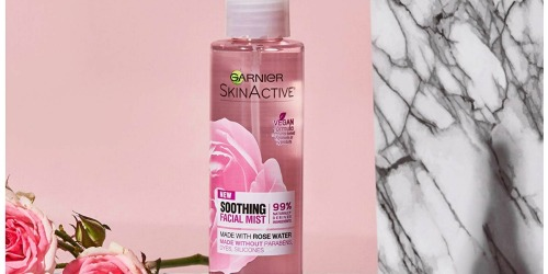 FREE Garnier SkinActive Soothing Facial Mist Sample (First 15,000 Only)