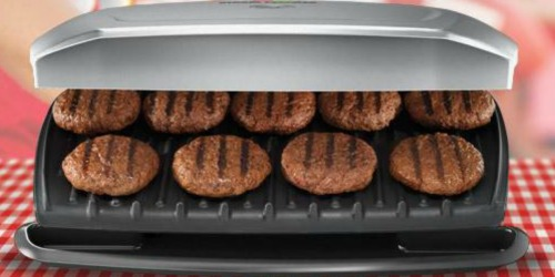 George Foreman 9-Serving Indoor Grill & Panini Press Only $19.99 on Walmart.com (Regularly $60)