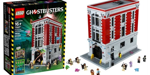 LEGO Ghostbusters Firehouse Headquarters Only $289.99 Shipped (Includes Over 4,600 Pieces)