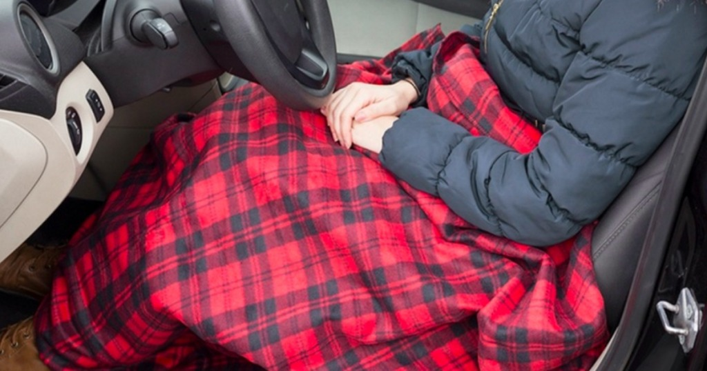 Electric Heated Blanket For Car Only 20 99 Regularly 40