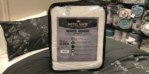 Hotel Suite Down Comforter & The Big One Pillow Only $50.38 Shipped (Regularly $130+) + Get $15 Kohl's Cash