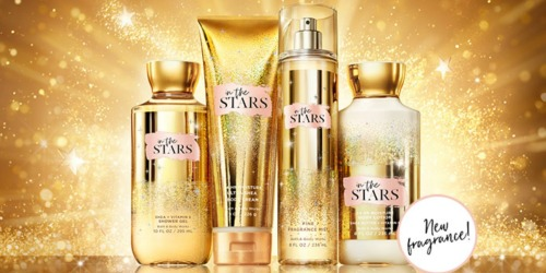 Bath & Body Works In The Stars Body Care Products Only $5.95 (Regularly $16.50)