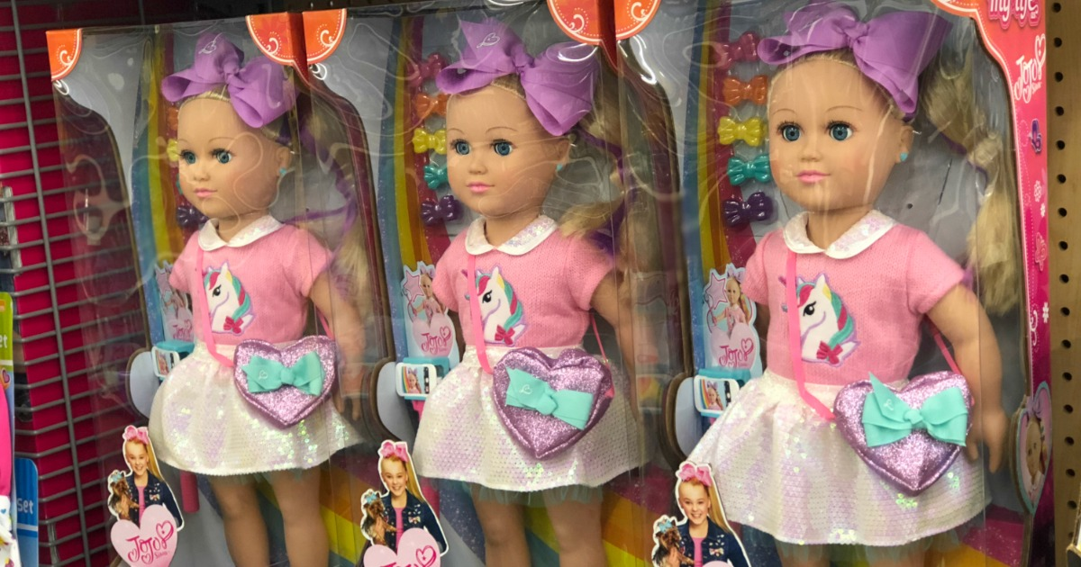 Jojo Siwa Poseable 18 Doll Only 34 97 At Walmart Com Sells Out