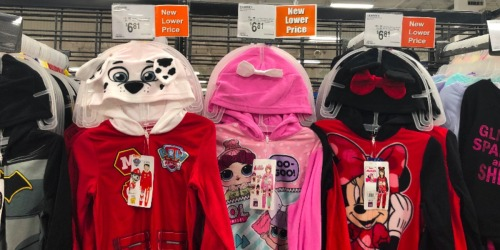 Hooded Pajamas for the Family as Low as $6.81 at Sam's Club