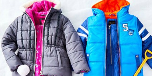Kids Puffer Coat AND Matching Snow Bib Set ONLY $23.79 at Zulily (Regularly $90) & More