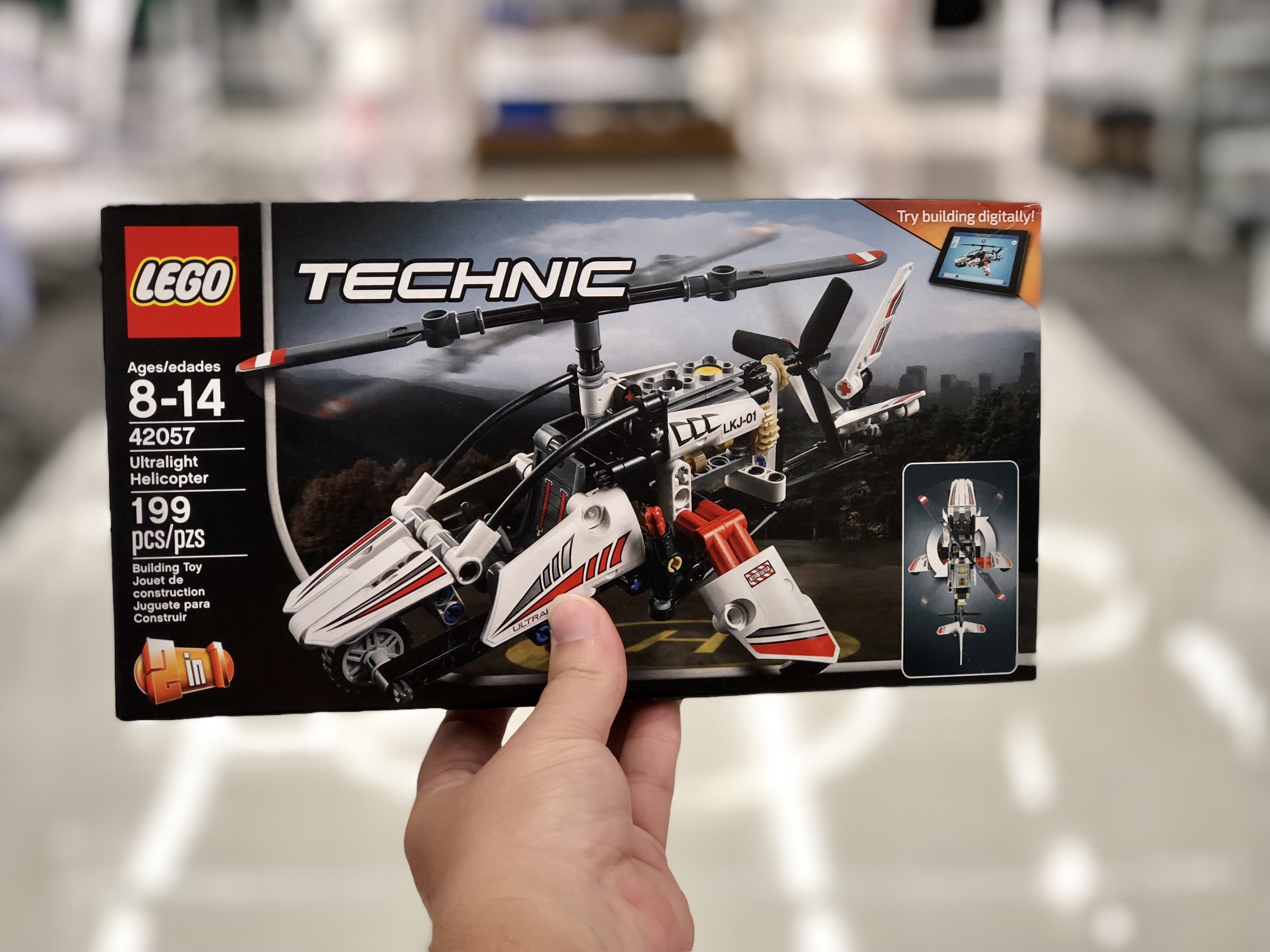Set Lego Just13 99 Technic Helicopter Ultralight vYbgf67y