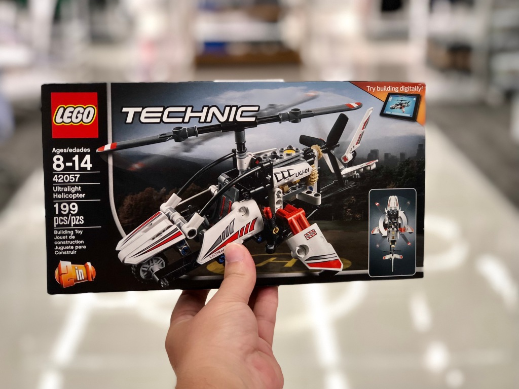 Lego Technic Ultralight Helicopter Set Just 1399 Hip2save