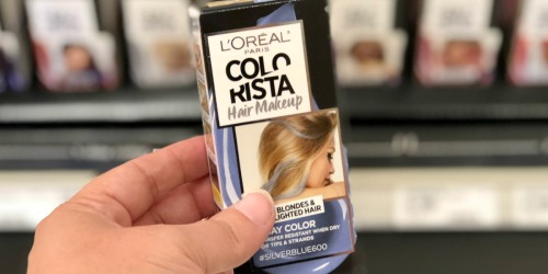 L'Oreal Paris Colorista Temporary Hair Color Only $1.89 Each After Target Gift Card (Regularly $7+)