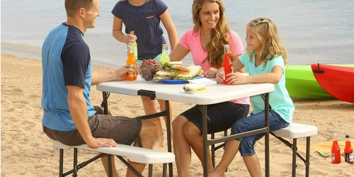 Folding Picnic Table & Benches Just $59.98 Shipped at Sam's Club (Regularly $119)