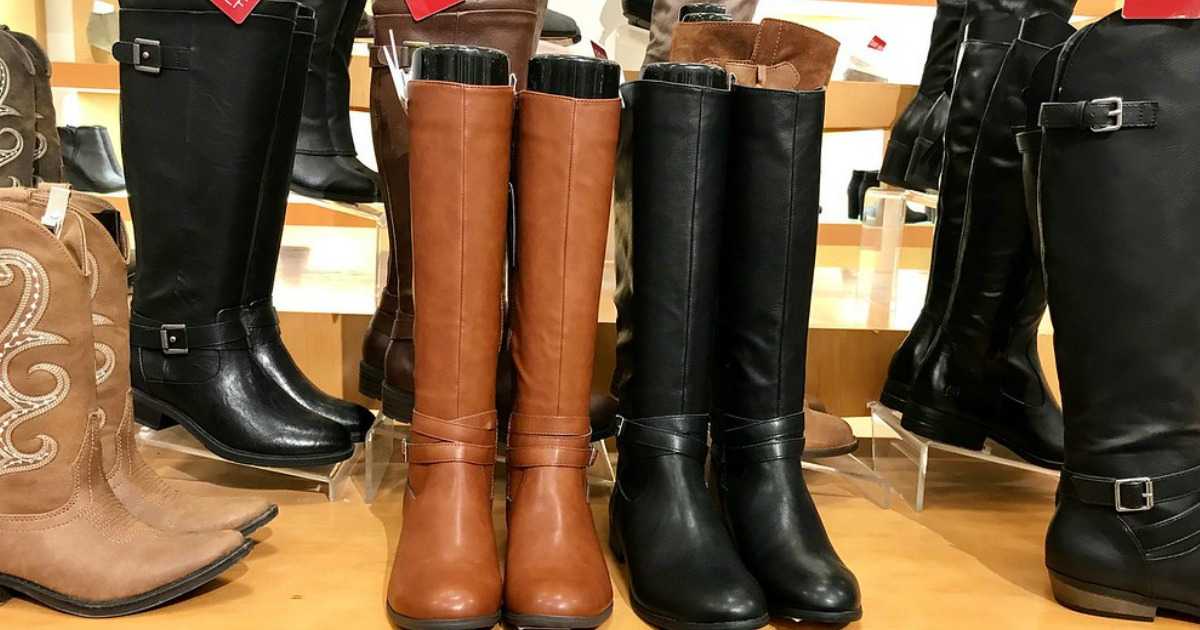 Women's Boots as Low as $19.99 at Macy