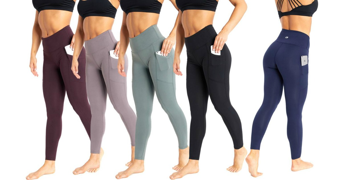 48502c39e010d Marika Tummy Control Pocket Leggings Just $16.99 on Zulily (Regularly $55+)