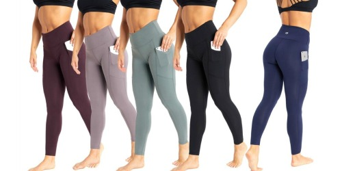 Marika Tummy Control Pocket Leggings Just $16.99 on Zulily (Regularly $55+)