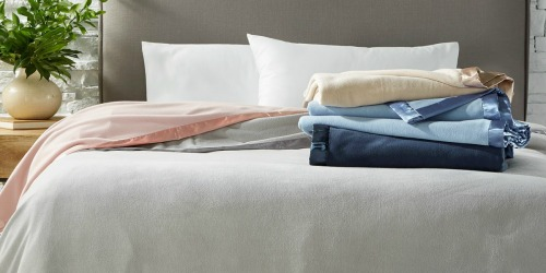 Macy's: Martha Stewart Fleece Blankets Only $13.99 (Regularly $50) – ALL SIZES
