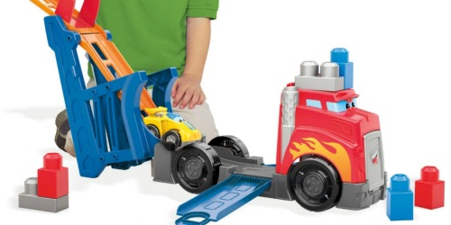 Mega Bloks First Builders Fast Tracks Racing Rig Building Set Only $7.99 Shipped (Regularly $20)