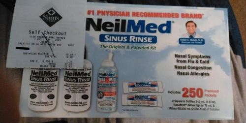 Sam's Club: NeilMed Sinus Rinse Kit Just $19.98