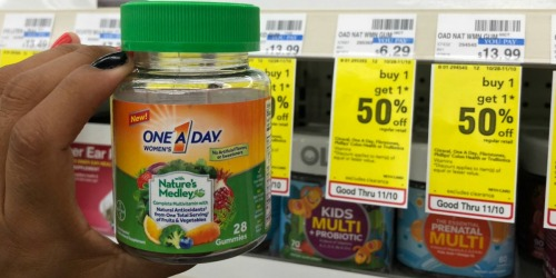 High Value $4/1 One a Day Multivitamin Coupon =  Only $1.10 at CVS (Regularly $6)