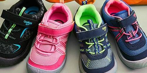 Osh Kosh B'gosh Kids Sneakers Only $12.79 (Regularly $38) at Zulily