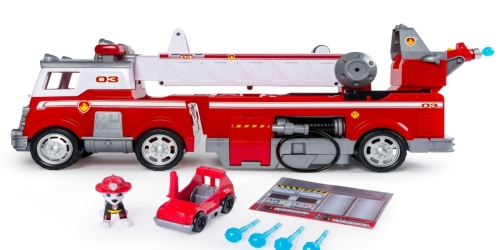 Target: Paw Patrol Ultimate Rescue Fire Truck Just $44.49
