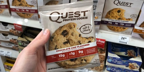 Two Boxes of Quest Protein Cookies Only $19.99 Shipped – Just 83¢ Per Cookie