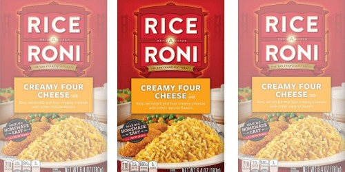Rice-A-Roni 12-Pack Only $9.58 Shipped on Amazon | Just 80¢ Each
