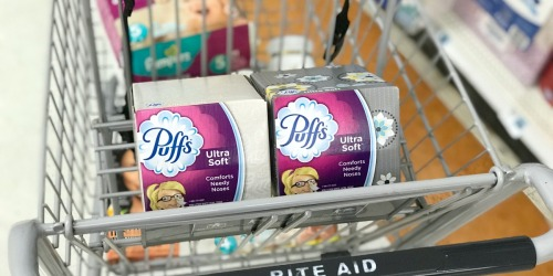 49¢ Puff Tissues, Cheap Pantene, Discounted Gift Cards & More at Rite Aid (Starting 10/28)