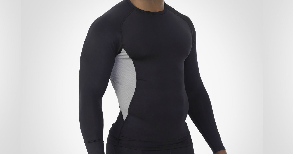 Russell Men's Long Sleeve Compression Shirts Only $6.99 Shipped (Regularly $25)