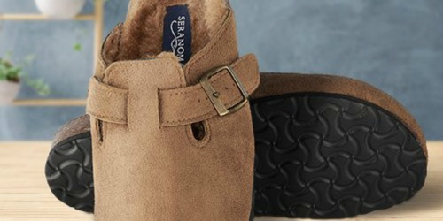 Seranoma Suede Clogs Only $15.79 (Regularly $64) at Zulily