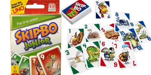 Skip-Bo Junior Card Game Only $3.76 (Regularly $8) – Great Stocking Stuffer Idea