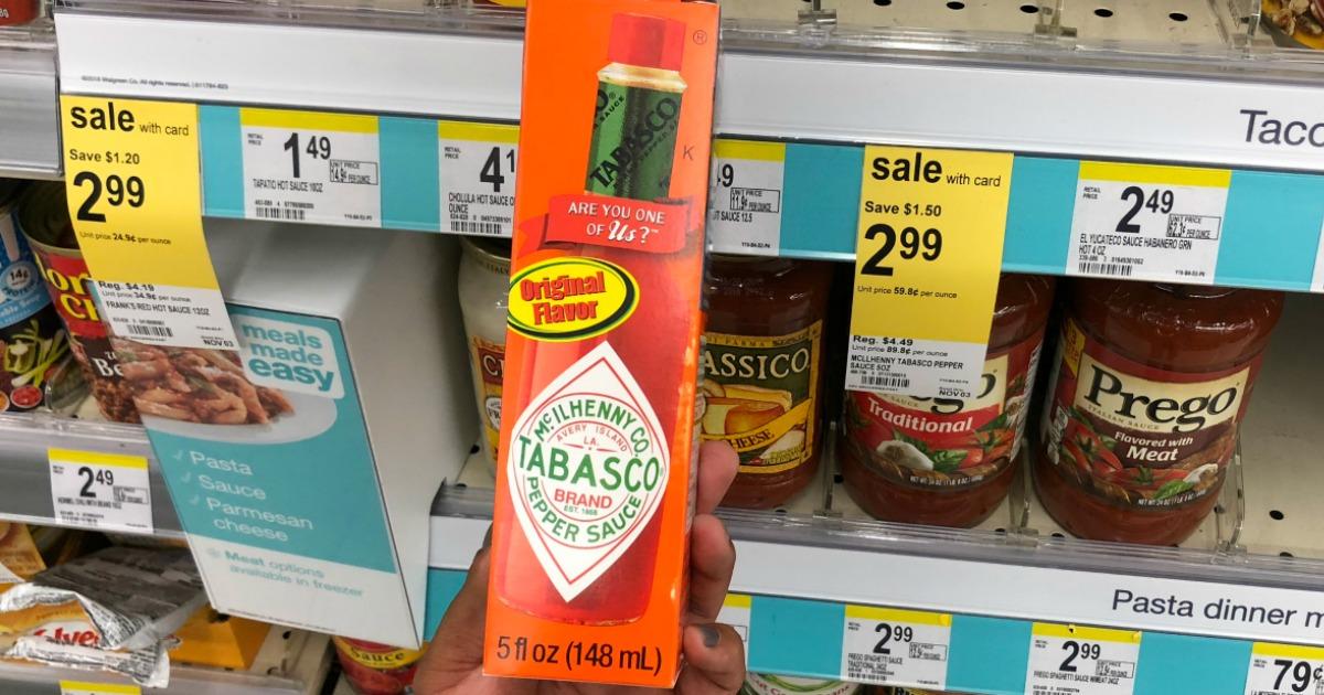 Tabasco coupon $1
