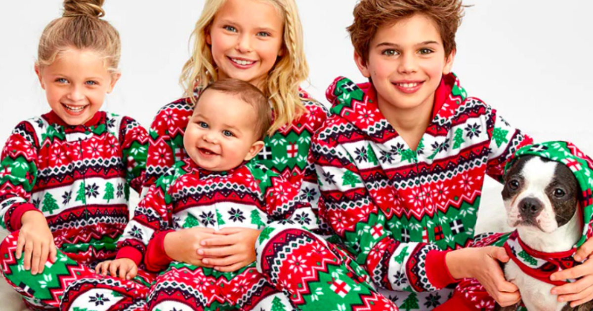 Up to 70% Off The Children s Place Matching Family Pajamas + Free Shipping ab44293cc
