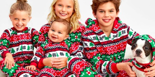 Up to 70% Off The Children's Place Matching Family Pajamas + Free Shipping