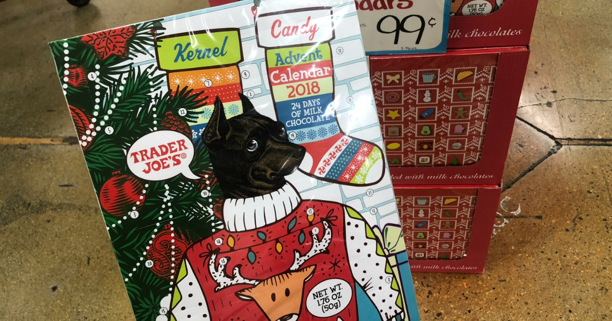 Premise Indicator Words: Trader Joe's Chocolate Advent Calendars Only 99¢