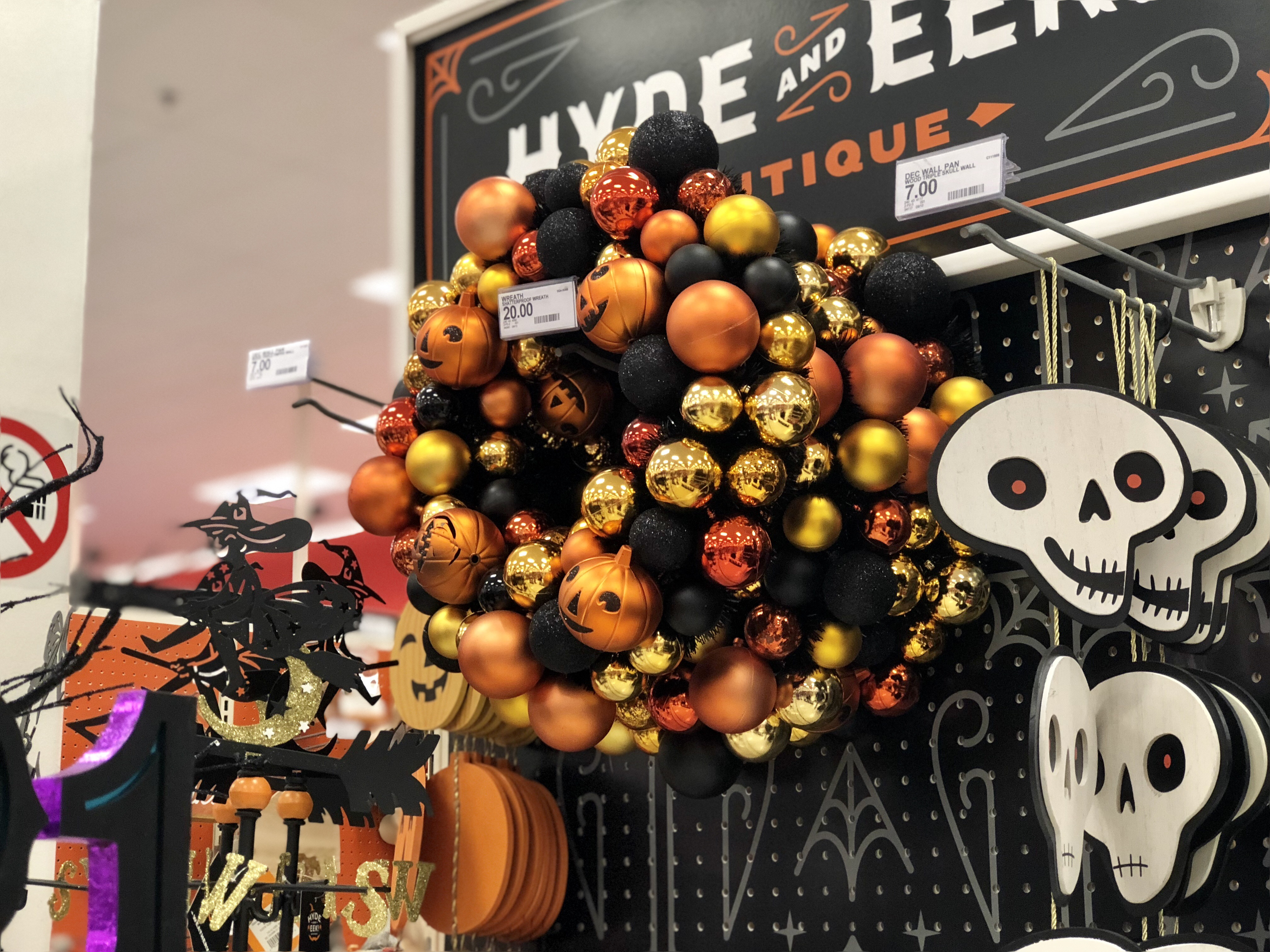 extra 20% off hyde & eek halloween decor at target (in-store